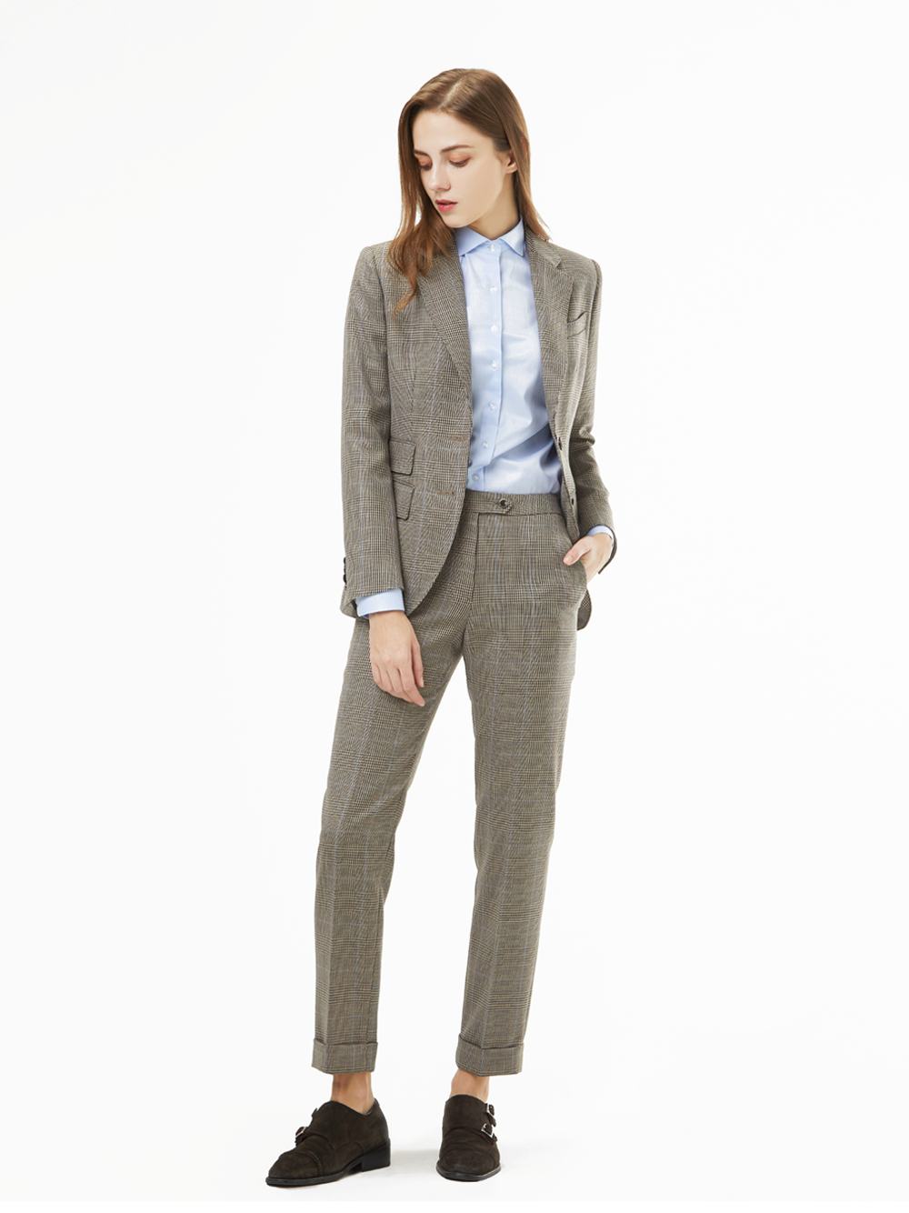 Holland&Sherry Glen Check Suit